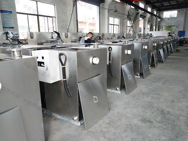 后厨地下式智能型油水分离一体化设备供应厂家