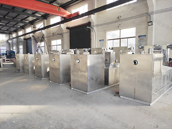厨下型大室内智能型气浮式油水分离机有哪些规格