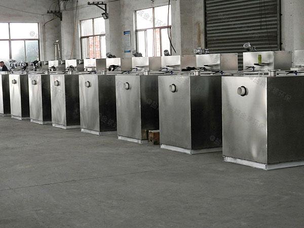 综合体地埋式大半自动隔油隔渣设备在哪体现