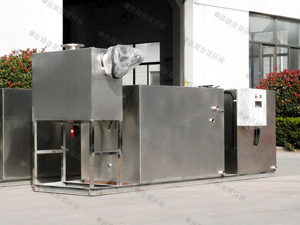 餐馆大型埋地式简易油水分离提升设备行业