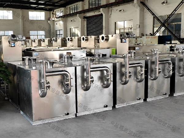 工地中小型地埋式智能型污水处理隔油设备怎样使用