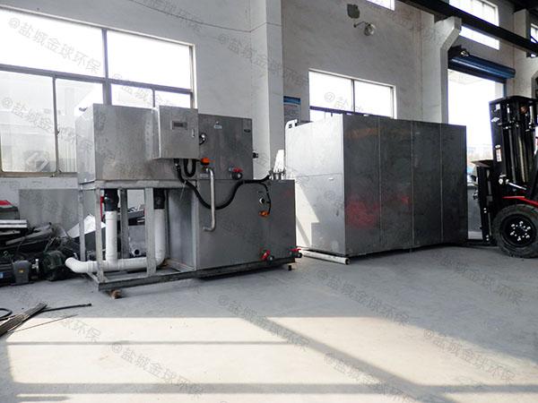 火锅地面式大全能型污水隔油设备
