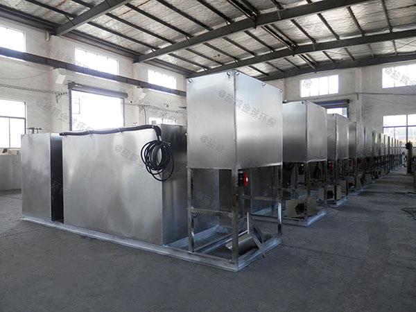 厨房用地下室移动成品隔油池生产商