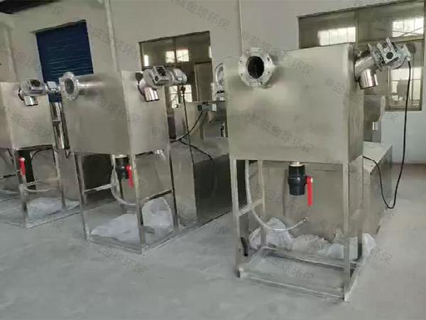 饭堂中小型地面式多功能污水处理油水分离设备起什么作用