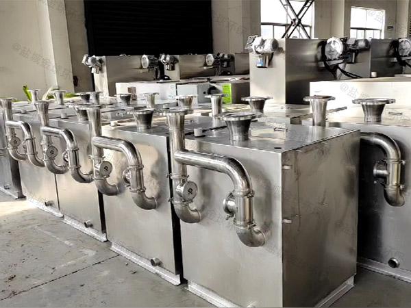 单位食堂埋地式分体式油污水分离装置是哪个