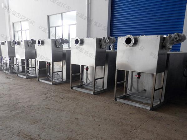 厨余地下室大型自动化一体化隔油池处理设备类型