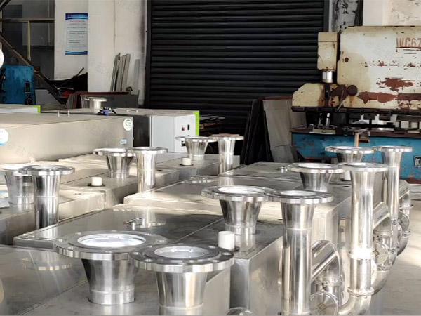 餐厅厨房大移动废水隔油器图集