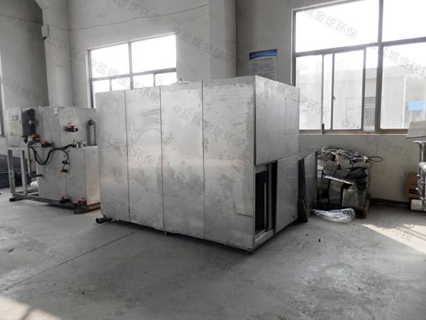 食堂用室外大组合式除渣隔油一体机怎么看型号
