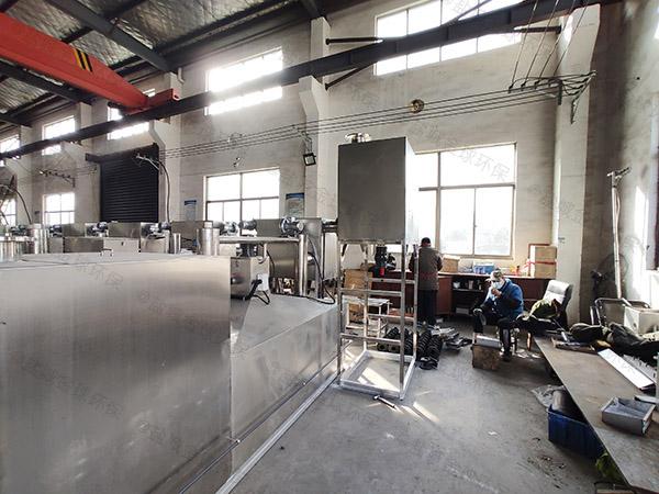 单位食堂中小型地埋多功能气浮油水分离器直产厂家