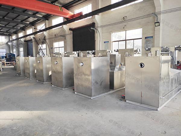餐饮行业大型地下式移动油水分离处置设备怎么处理