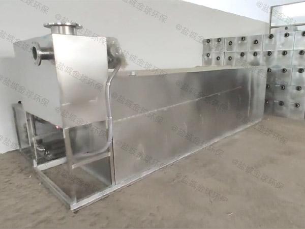餐用中小型地埋式移动式一体化隔油装置厂商