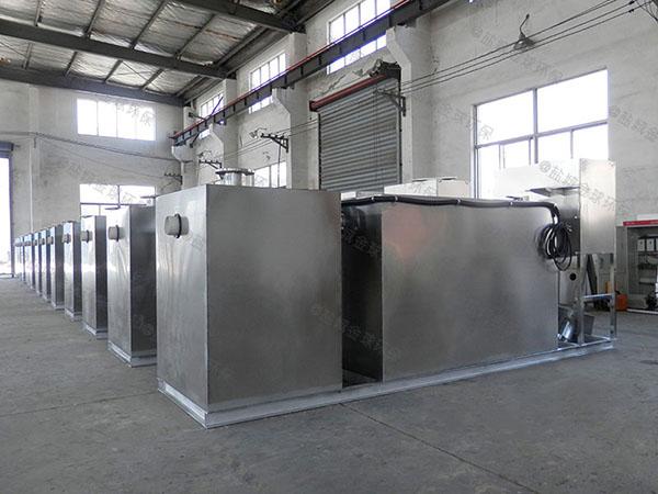 商家大型室内自动提升油水分离处理装置的种类