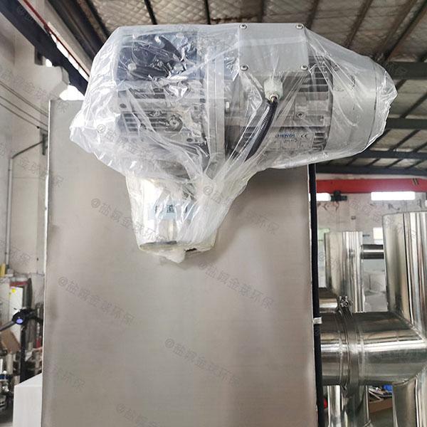 后厨地面式大全自动智能型一体式隔油器图纸