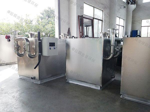 单位食堂大型移动式隔油污水提升装置的材质