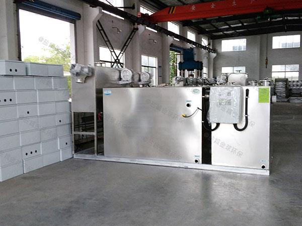 工厂食堂中小型地埋式简单油水分离器和隔油池都有什么型号