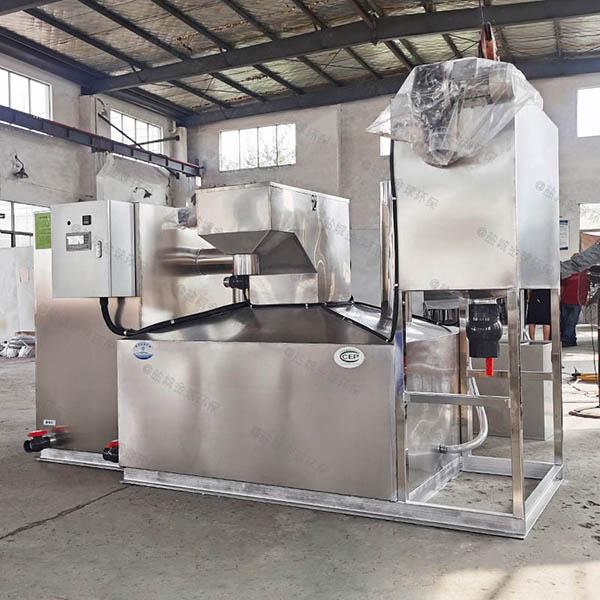 后厨大型地面半自动不锈钢隔油设备哪些行业需要