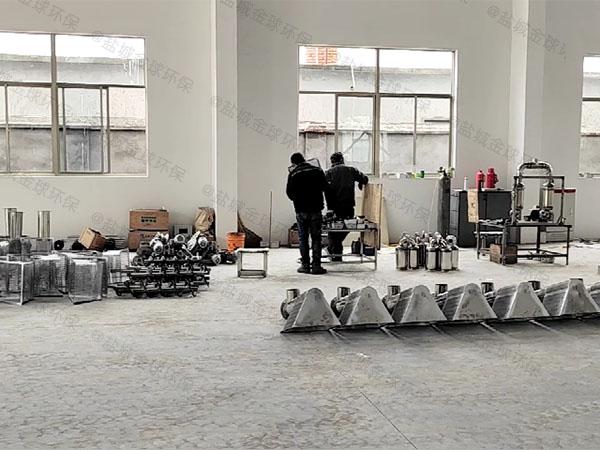 单位食堂地下智能隔油池设备生产商