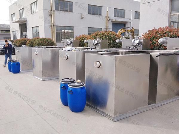 厨余中小型地埋机械一体化隔油池直供厂家