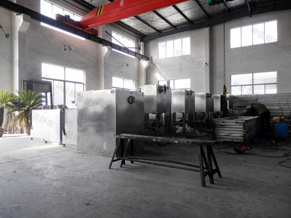 商场地面自动排水油水分离一体化设备型号选择