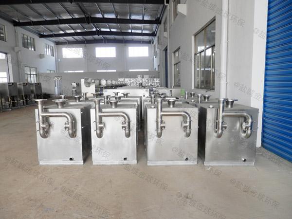 购物中心地面式移动式一体化隔油强排设备直产厂家