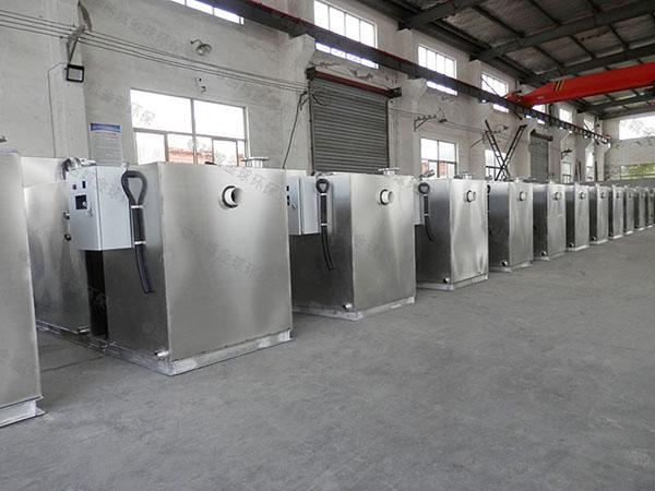 中餐地埋式大自动化一体化隔油污水提升设备技术参数