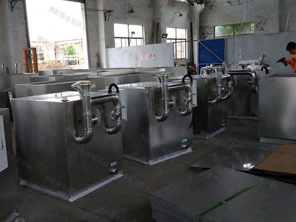 居家用大室外自动除渣下水隔油池制作