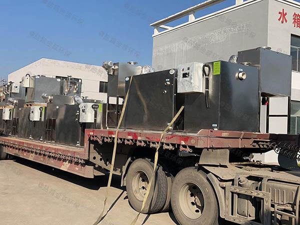 厨房用地埋式大型无动力餐厨垃圾油水分离设备叫什么