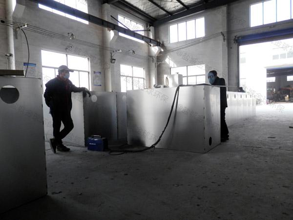 商场地下式无动力水油分离处理设备合同
