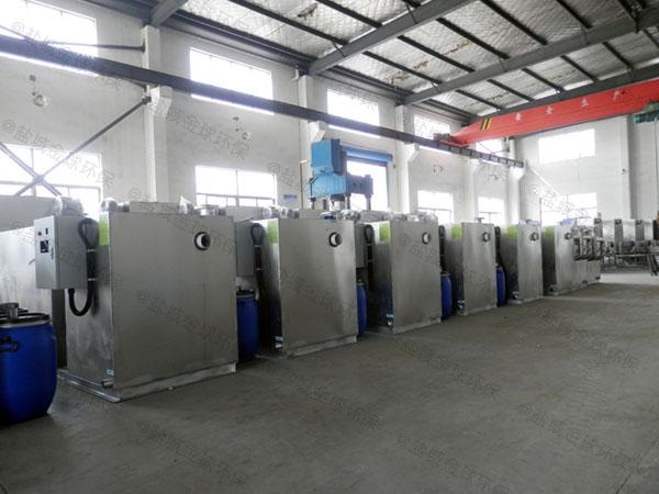 火锅店大型地埋式全自动油水分离器要求