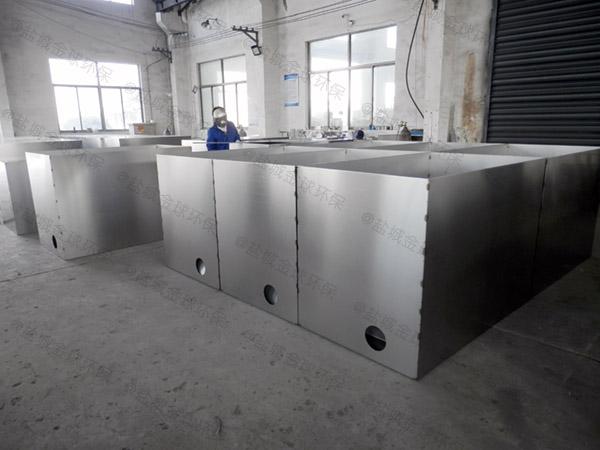 厨房用大型地下式移动隔油池隔油器哪家便宜