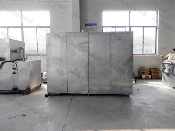 厨余地上分体式气浮式隔油池工程施工方案