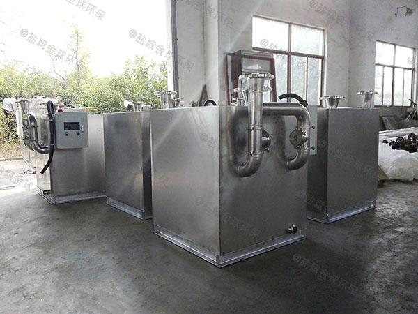 综合体埋地式移动除渣隔油器的优点