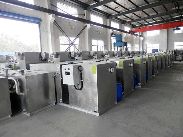 工程室外大型分体式水油分离处理设备的设计计算