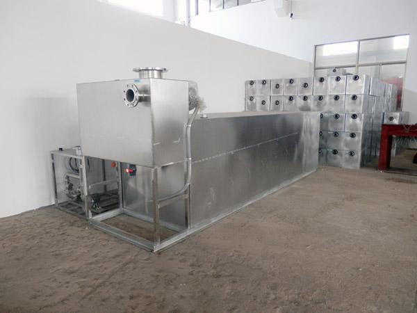 工厂食堂中小型地下式移动气浮式油水分离器多少钱一台