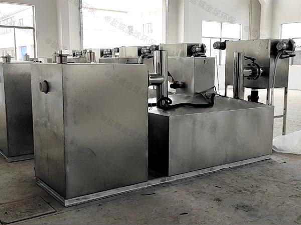 商业大地下室组合式成品隔油器属于粗滤吗