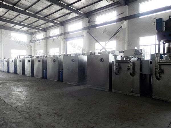 餐饮商户大室外机械垃圾处理器油水分离应用范围