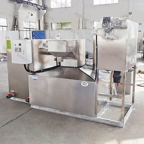 饭堂地埋式中小型自动化一体式隔油提升设备的报价