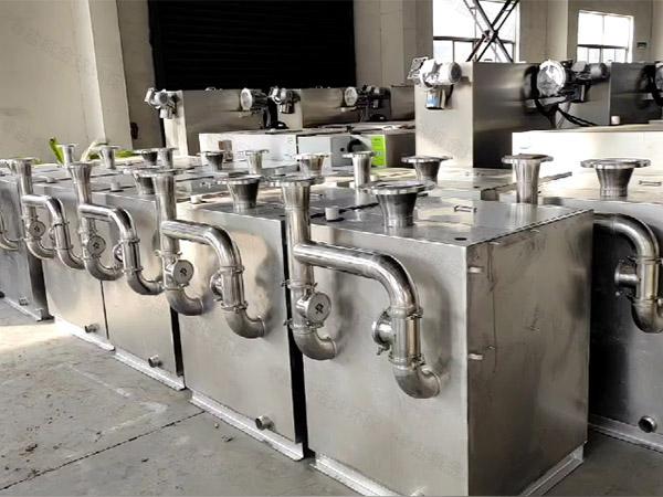 中餐大地下自动下水道油水分离器价位