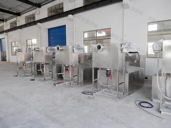 餐饮环保室内大型移动式一体化隔油装置批发价