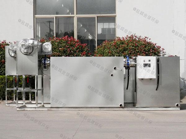 餐饮专用大地下式简易隔油强排一体化设备的设计规范