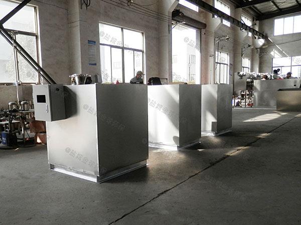 商家地埋移动隔油除渣一体化设备设计规范