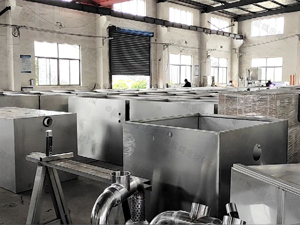 火锅大型地上全自动油水过滤分离器直产厂家