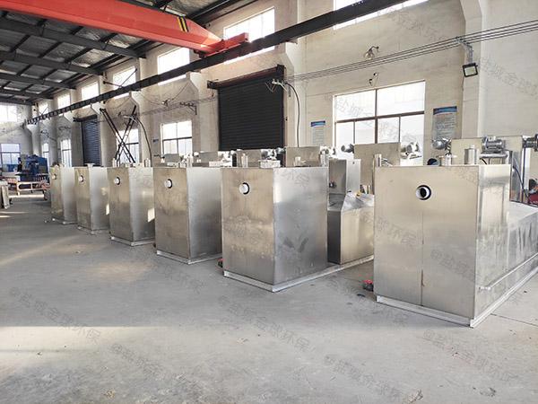 工程中小型地埋式组合式成品不锈钢隔油池排放标准
