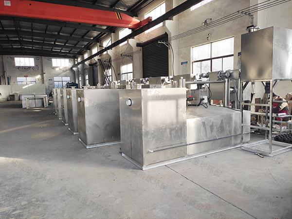 厨用地上式移动式一体化油脂分离器的价位