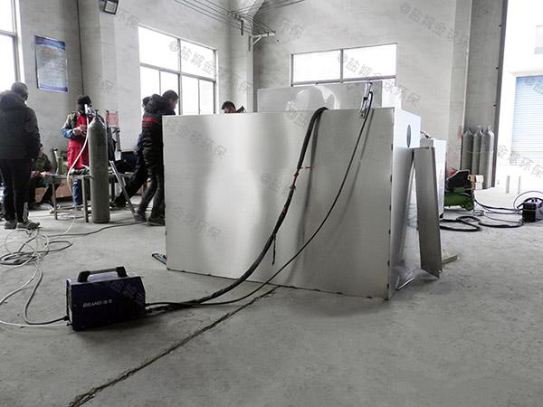 食堂用中小型地埋式机械隔油设备什么原理