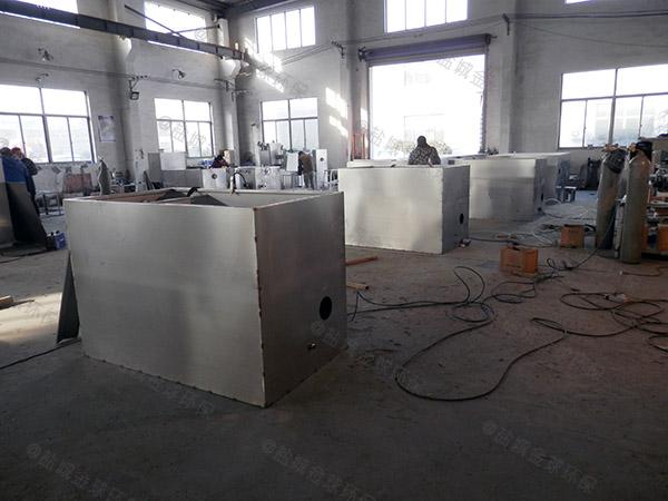 食堂用埋地式大型自动提升油水分离器设备合格证