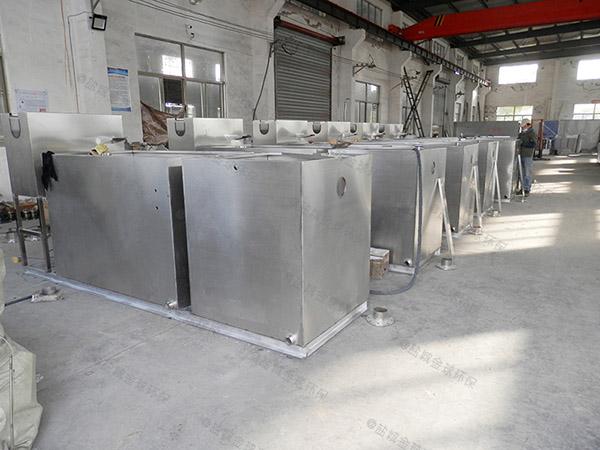 饭店室内分体式污水处理隔油池的维护