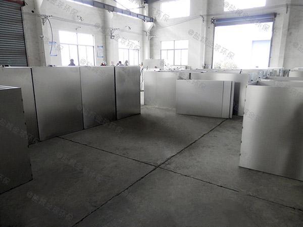 餐厅厨房地上自动化油水分离器安装步骤