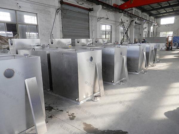购物中心地下式中小型分体式隔油强排一体化设备一般多少钱