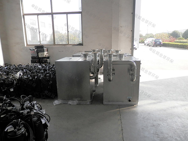 居家用大型地面自动除渣一体化油脂分离器适用行业